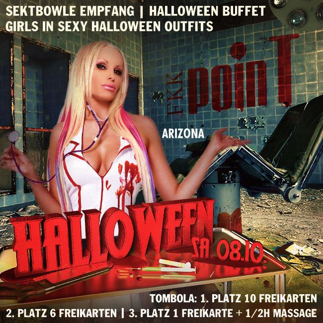 Samstag, den 08.10.: Halloween + Point = Party!