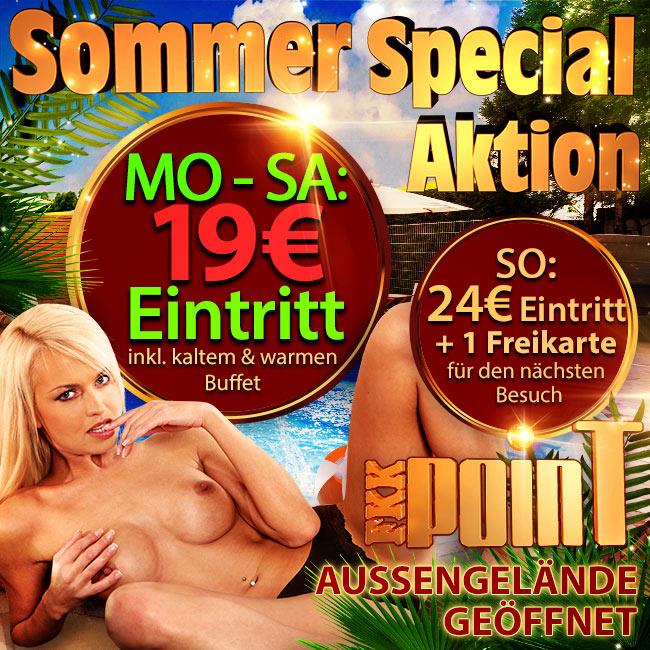 Ab sofort im FKK Point: Die Sommer-Special-Aktion!