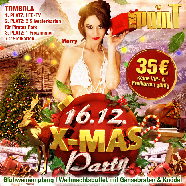 16.12.: X-mas-Party im FKK Point